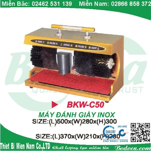 may danh giay bodoca BKW C50