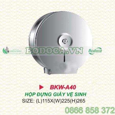 hop dung giay ve sinh BKW A40 2