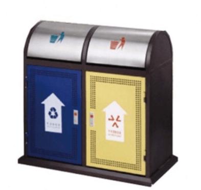 Thùng rác 2 ngăn